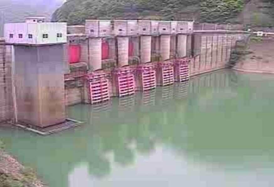 日高川椿山ダム上流側ライブカメラ(和歌山県日高川町初湯川)