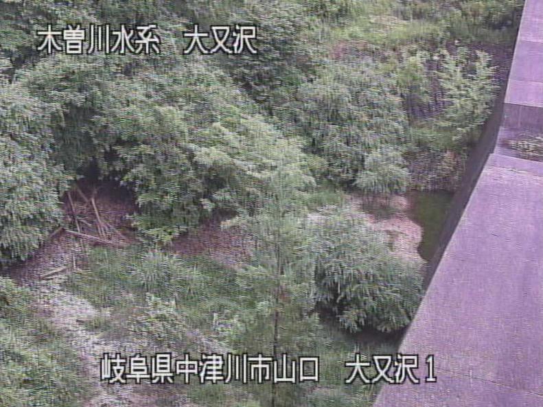 大又沢川大又沢第1ライブカメラ(岐阜県中津川市山口)