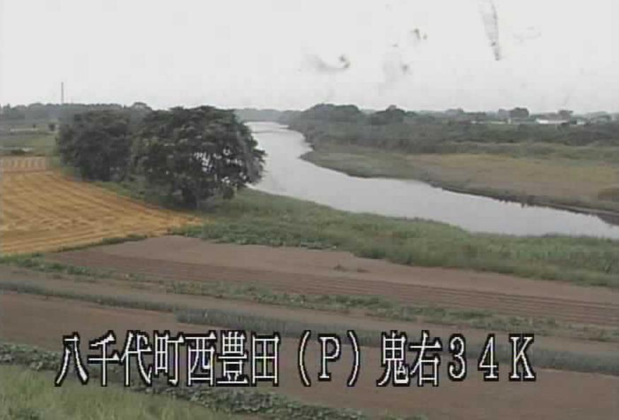 鬼怒川西豊田揚水機場ライブカメラ(茨城県八千代町川尻)