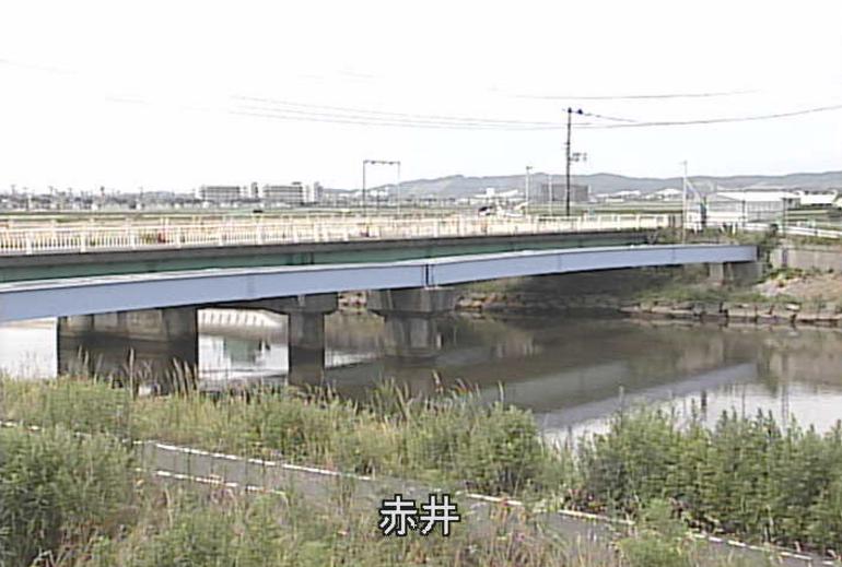 定川赤井ライブカメラ(宮城県東松島市赤井)