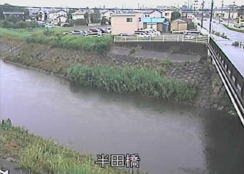 馬込川半田橋ライブカメラ(静岡県浜松市東区)