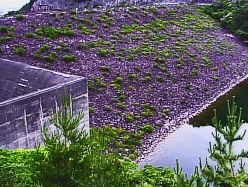 宇曽川宇曽川ダムライブカメラ(滋賀県東近江市平柳町)