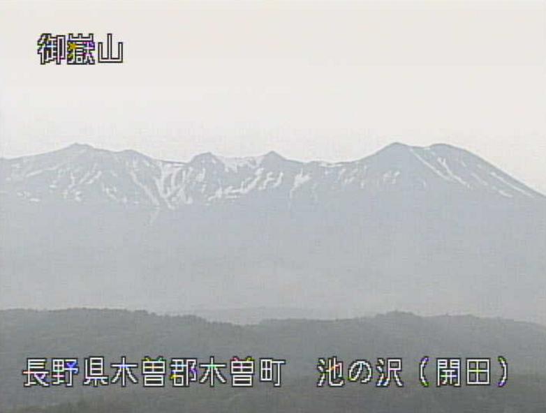 御嶽山開田ライブカメラ(長野県木曽町)
