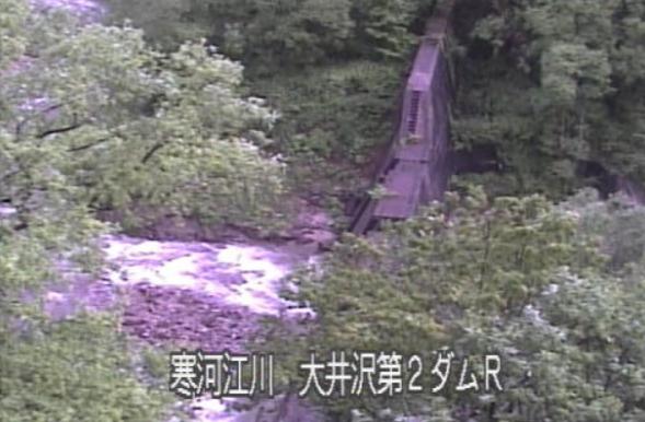 寒河江川大井沢第2ダムライブカメラ(山形県西川町大井沢)
