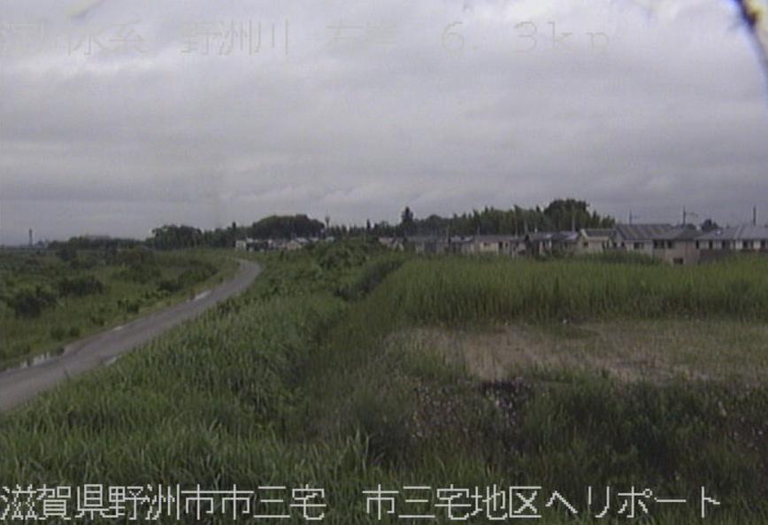 野洲川市三宅地区ヘリポートライブカメラ(滋賀県野洲市市三宅)