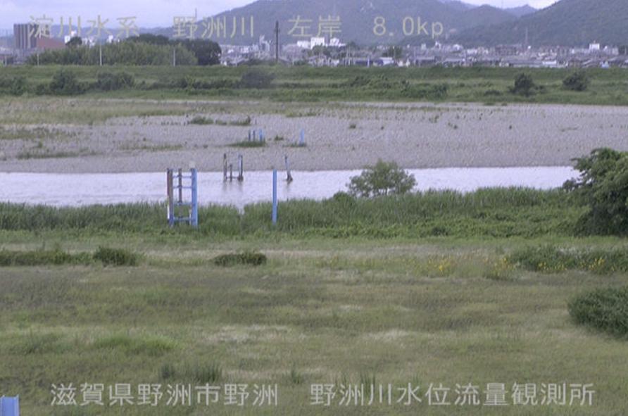 野洲川野洲川水位観測所ライブカメラ(滋賀県野洲市野洲)