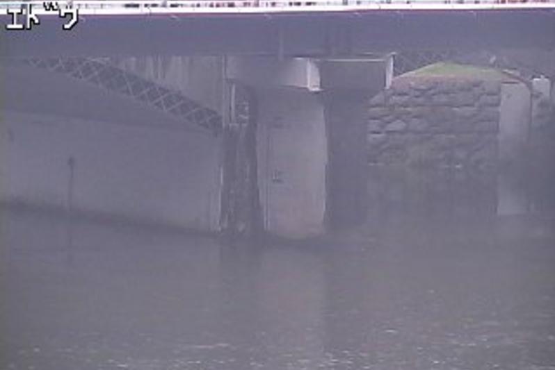 高梁川西方江道橋ライブカメラ(岡山県新見市西方)