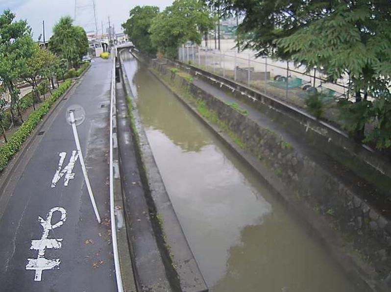 追田雨水幹線城南町ライブカメラ(愛知県安城市城南町)