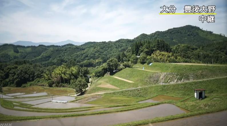 NHK大分豊後大野地割れライブカメラ(大分県豊後大野市朝地町)