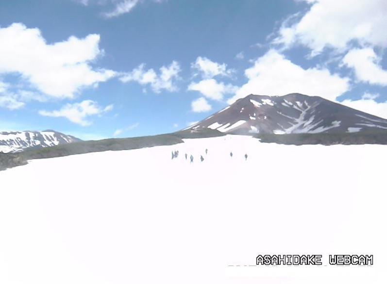 旭岳山頂ライブカメラ(北海道東川町勇駒別)
