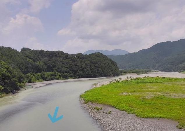 大井川駿遠橋ライブカメラ(静岡県島田市川根町)