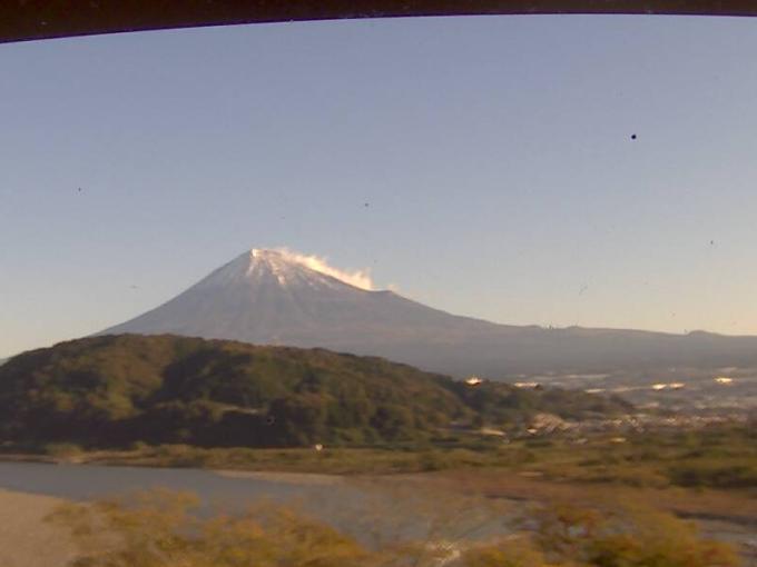 WNI富士山富士川ライブカメラ(静岡県富士市岩淵)