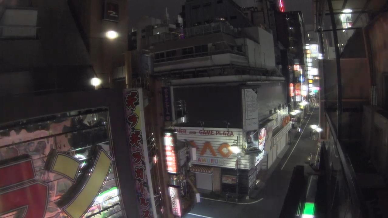 歌舞伎町ライブカメラ(東京都新宿区歌舞伎町)