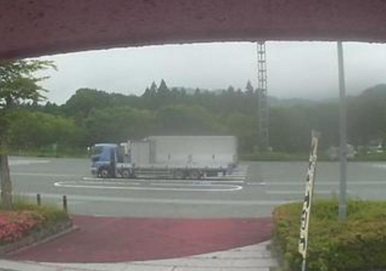 中国自動車道鹿野サービスエリア下りライブカメラ(山口県周南市鹿野中)