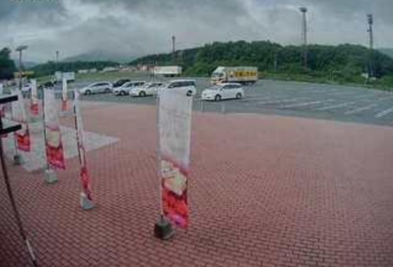 米子自動車道蒜山高原サービスエリア上りライブカメラ(岡山県真庭市蒜山)