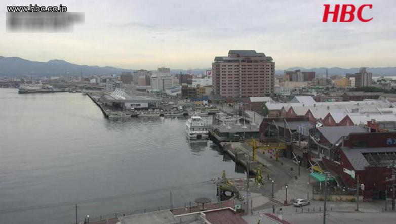 HBC函館ベイエリアライブカメラ(北海道函館市末広町)