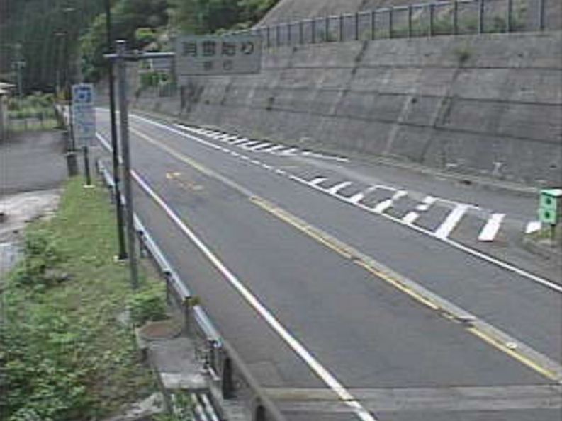 国道29号戸倉峠ライブカメラ(鳥取県若桜町落折)