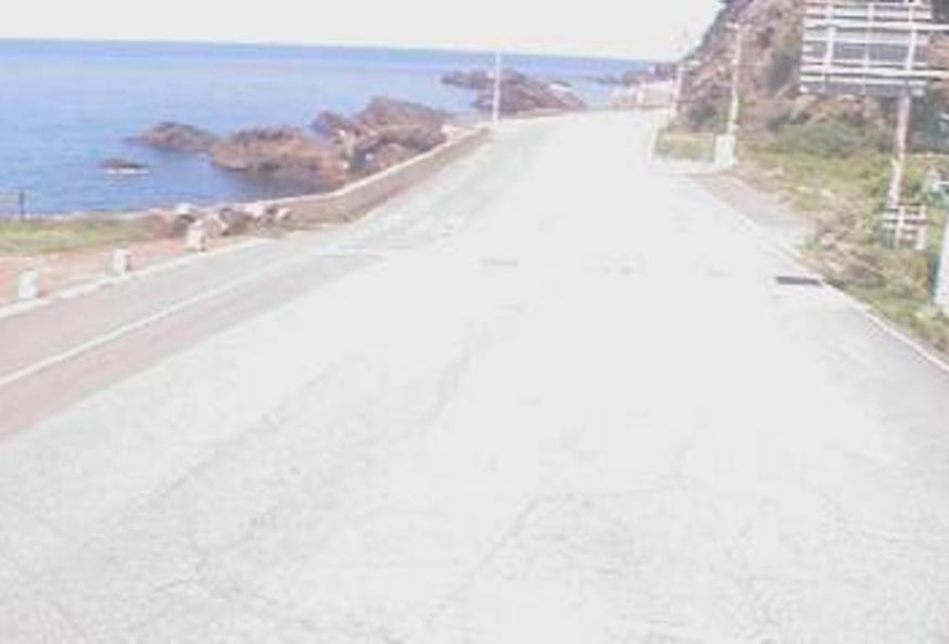 国道305号越前海岸ライブカメラ(福井県越前町梅浦)