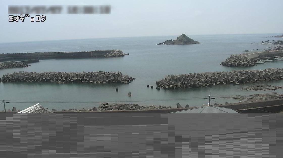 美浜町三尾漁港ライブカメラ(和歌山県美浜町三尾)
