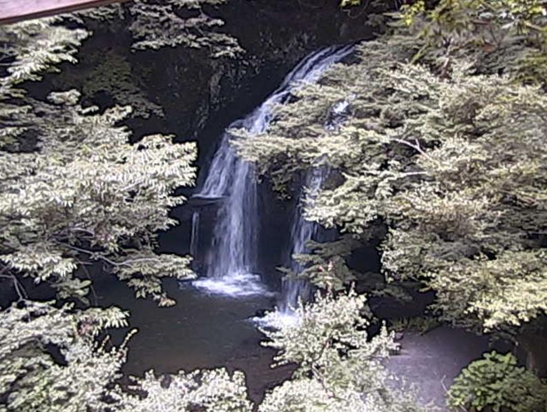 月待の滝ライブカメラ(茨城県大子町川山)