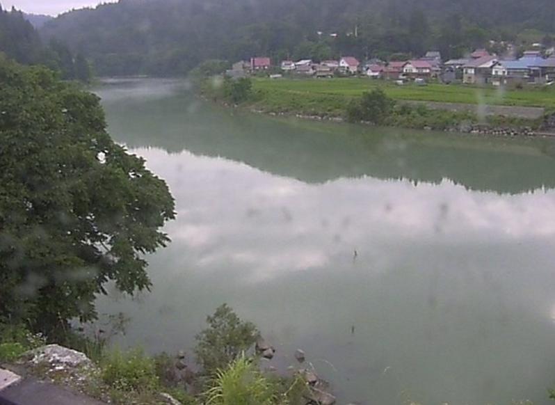 只見川西谷橋第2ライブカメラ(福島県金山町西谷)