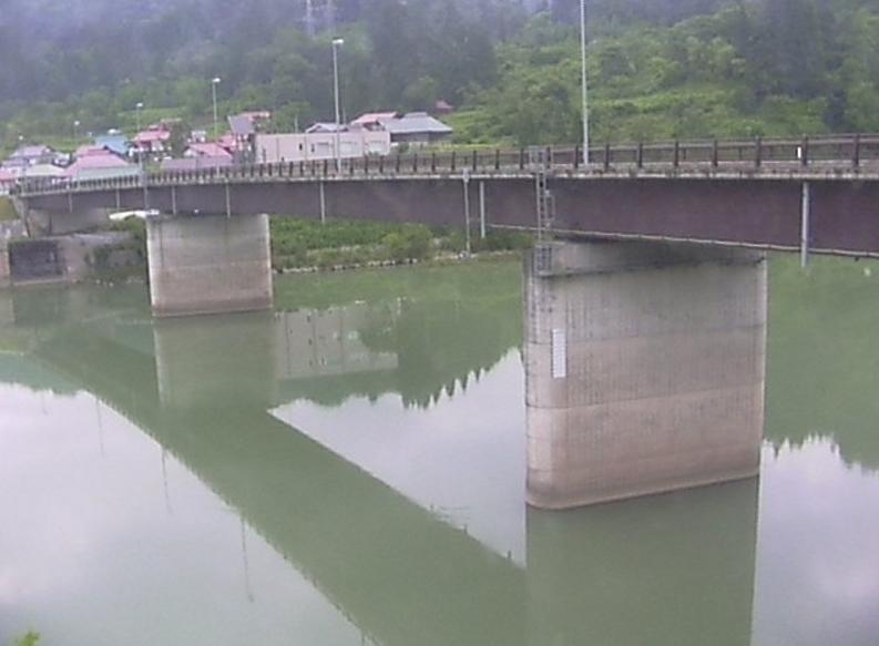 只見川西谷橋第1ライブカメラ(福島県金山町西谷)