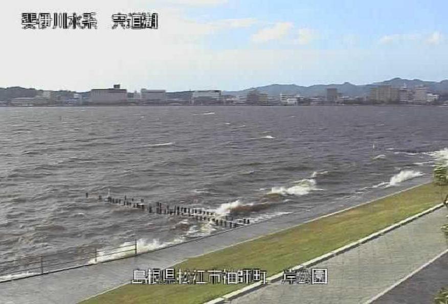 穴道湖袖師ライブカメラ(島根県松江市袖師町)