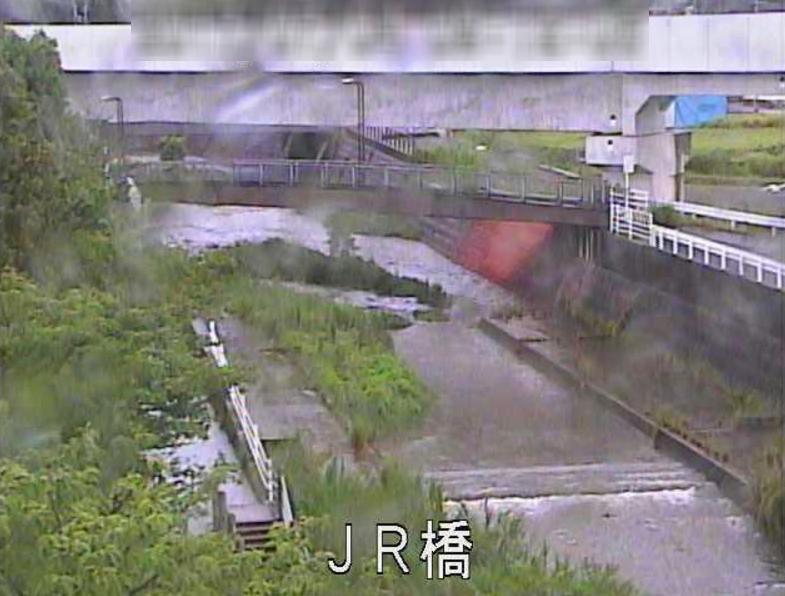 木之下川JR橋ライブカメラ(鹿児島県鹿児島市谷山中央)