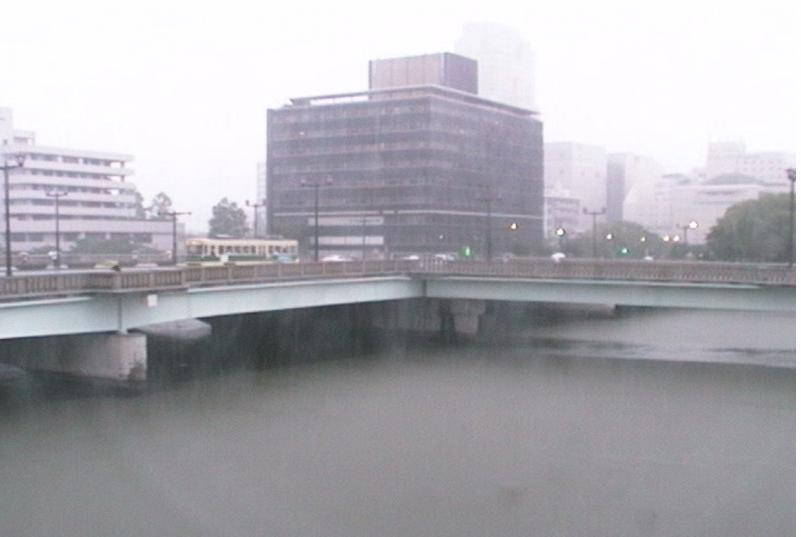 旧太田川相生橋ライブカメラ(広島県広島市中区)