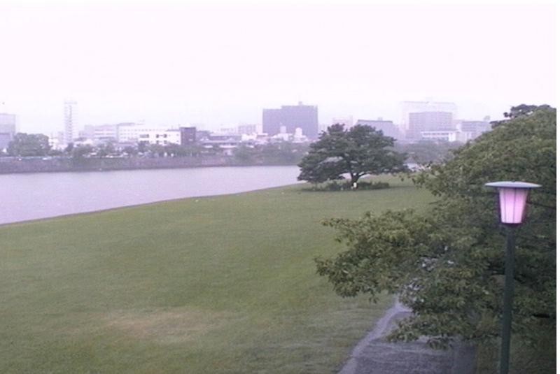 旧太田川基町ポップラ通りライブカメラ(広島県広島市中区基町)