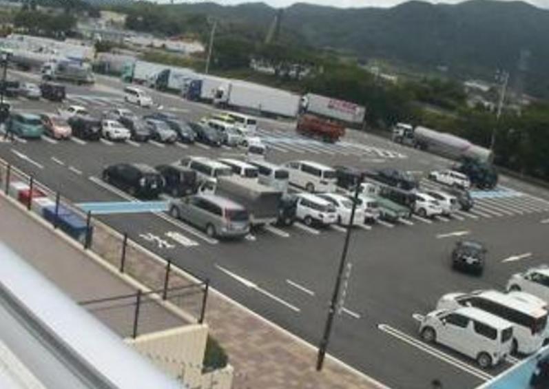 九州自動車道古賀サービスエリア上りライブカメラ(福岡県古賀市筵内)