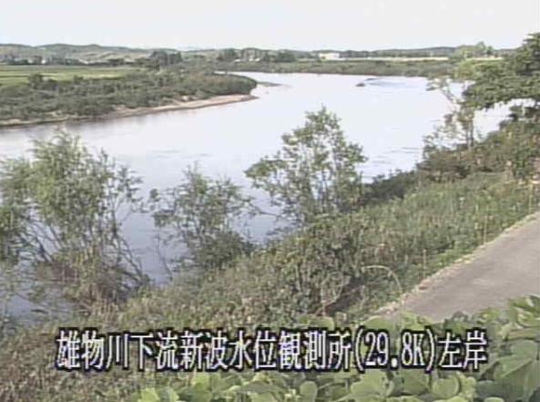 雄物川新波ライブカメラ(秋田県秋田市雄和新波)