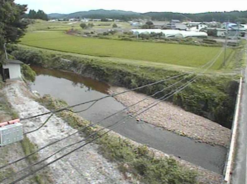 三種川中野橋ライブカメラ(秋田県三種町下岩川)