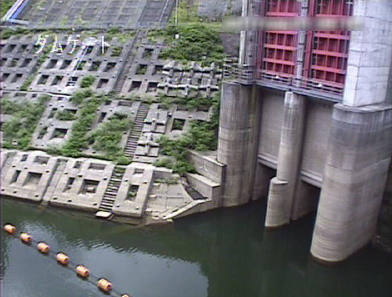鳴子ダム放流ゲートライブカメラ(宮城県大崎市鳴子温泉)
