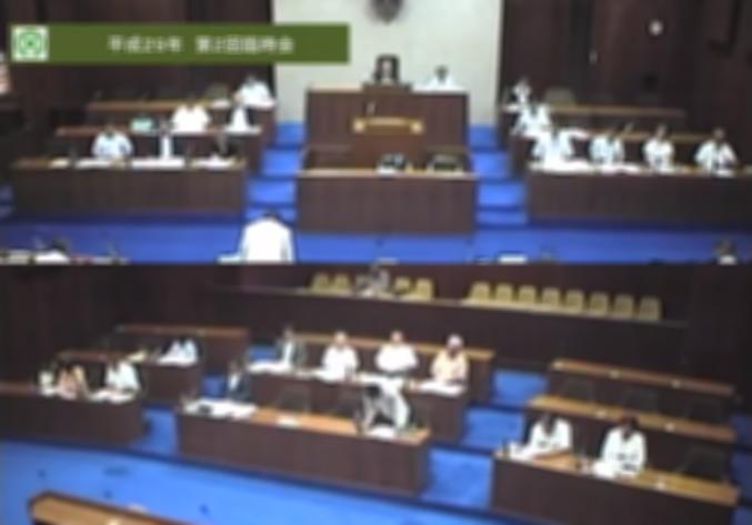 上牧町議会ライブカメラ(奈良県上牧町上牧)