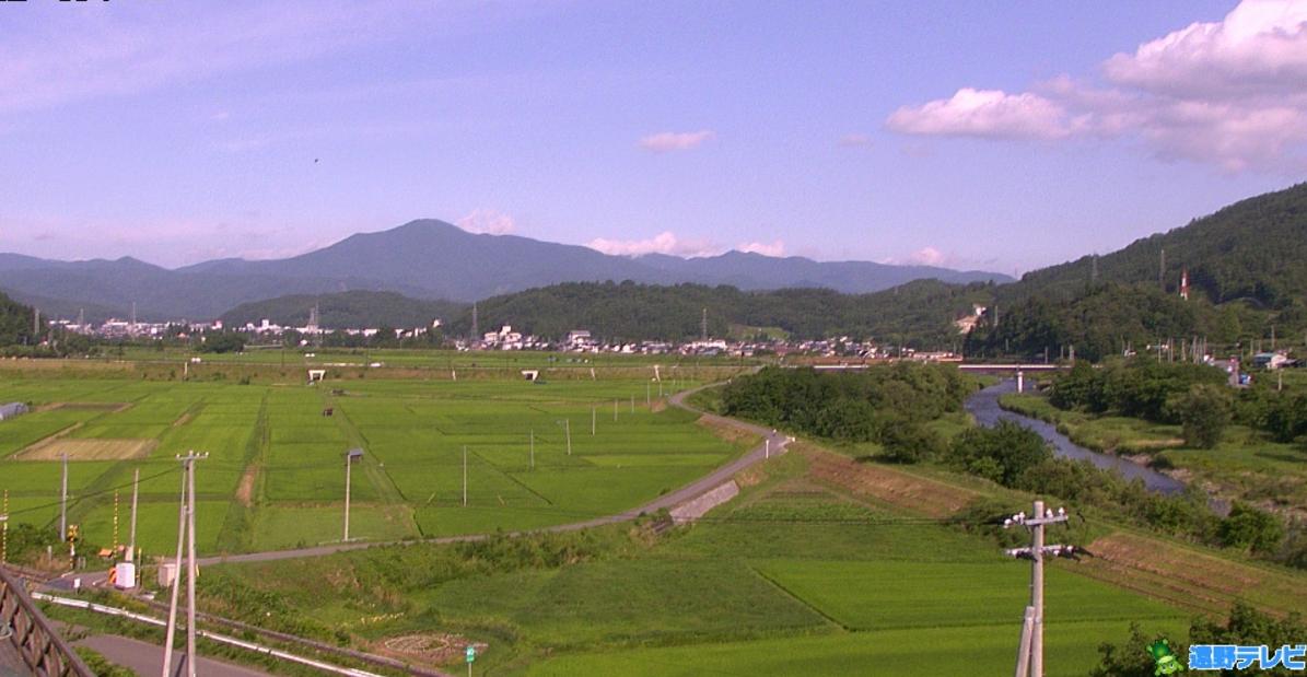 道の駅遠野風の丘ライブカメラ(岩手県遠野市綾織町)
