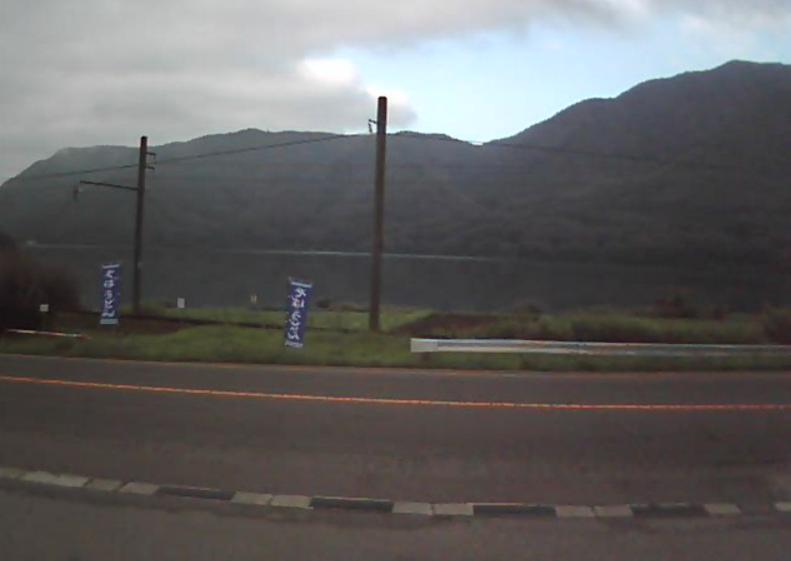 国道148号木崎湖フライトパークライブカメラ(長野県大町市平)