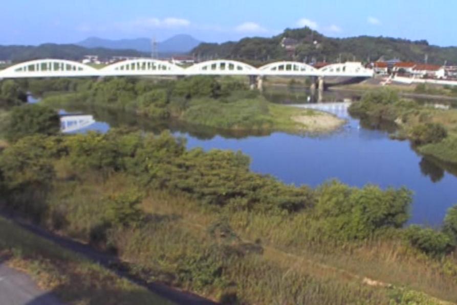 高津川高角橋ライブカメラ(島根県益田市須子町)