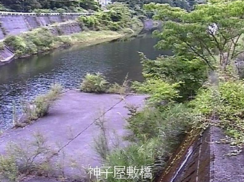 銅山川神子屋敷橋ライブカメラ(愛媛県四国中央市新宮町)