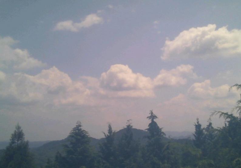 龍王山標高601mライブカメラ(岡山県真庭市阿口)