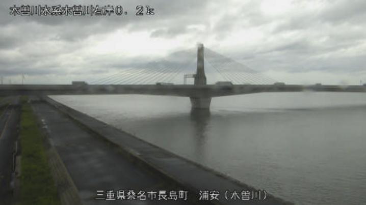 木曽川浦安ライブカメラ(三重県桑名市長島町)