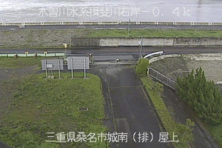 揖斐川城南排水機場ライブカメラ(三重県桑名市太平町)