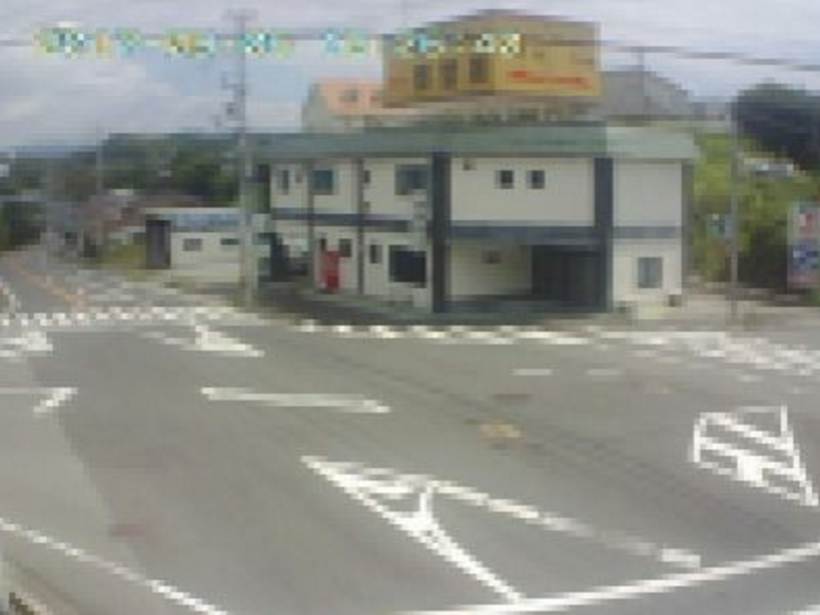 明光バス桃の木交差点ライブカメラ(和歌山県白浜町堅田)