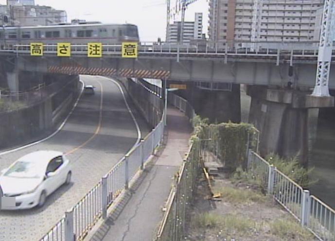 堀川左岸正木アンダーパスライブカメラ(愛知県名古屋市中区)