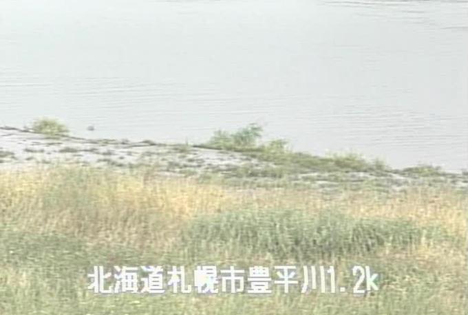 豊平川東雁来町ライブカメラ(北海道札幌市東区)