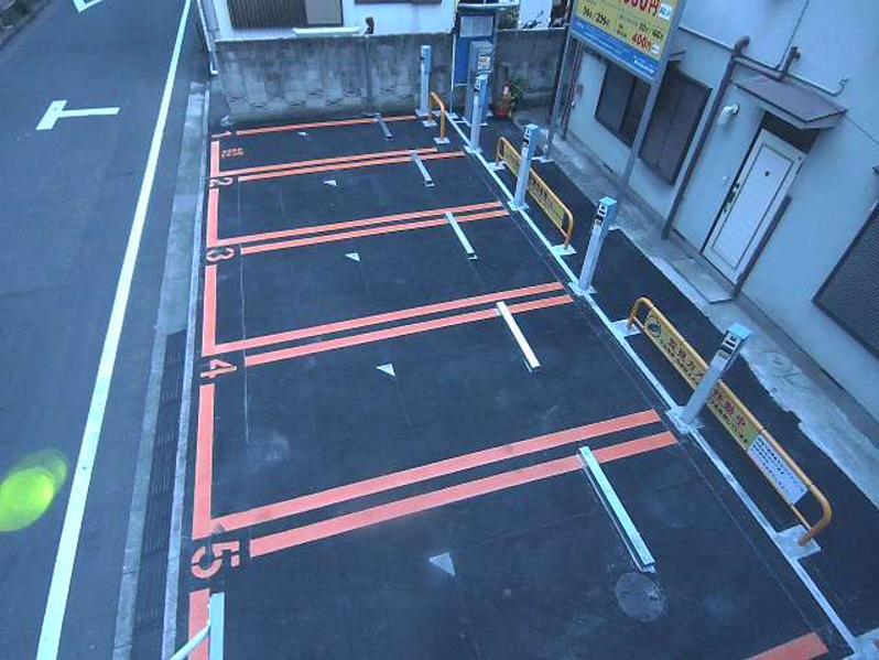 NTTル北新宿第1駐車場パルクライブカメラ(東京都新宿区北新宿)