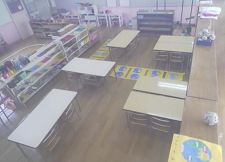若松青葉幼稚園1階もも組ライブカメラ(福岡県北九州市若松区)