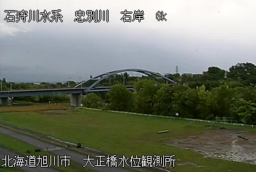忠別川大正橋水位観測所ライブカメラ