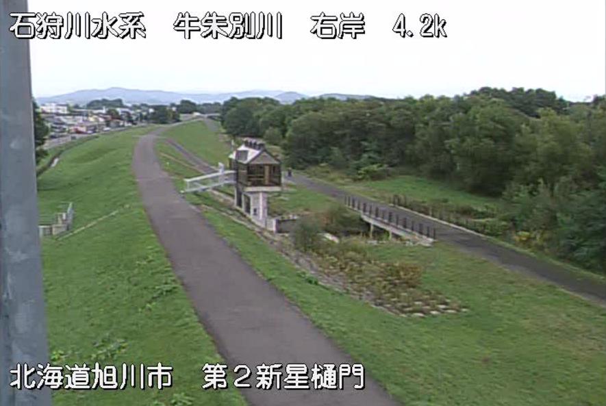 牛朱別川第2新星樋門ライブカメラ