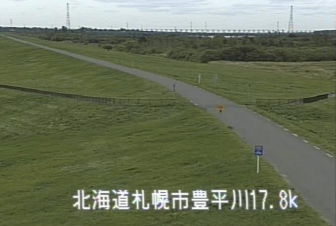 石狩川豊平川合流点ライブカメラ